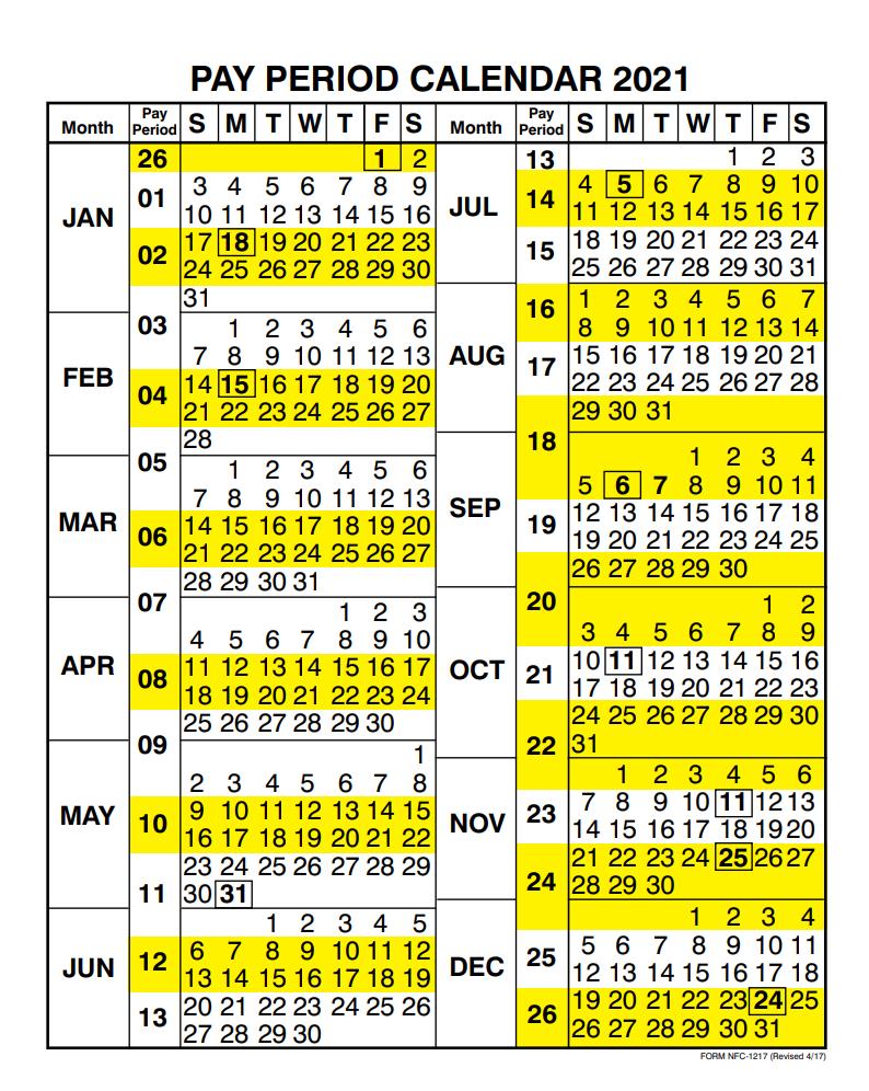 Payday Calendar 2021 USDA Payroll Calendar 2021 | Payroll Calendar