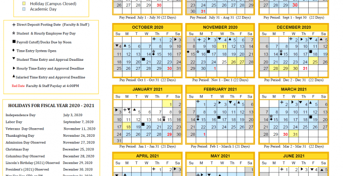Pictures of Csulb 2020 2021 Calendar