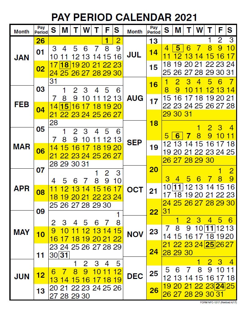 2020 Biweekly Payroll Calendar Template from payrollcalendar.net