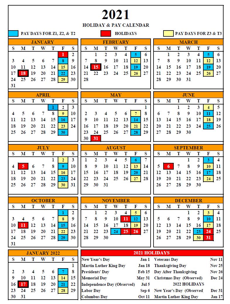 State Of Pennsylvania Payroll 2021 Payroll Calendar